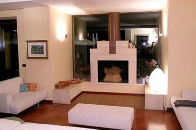Grande villa di campagna Frosinone (progetto 1992)