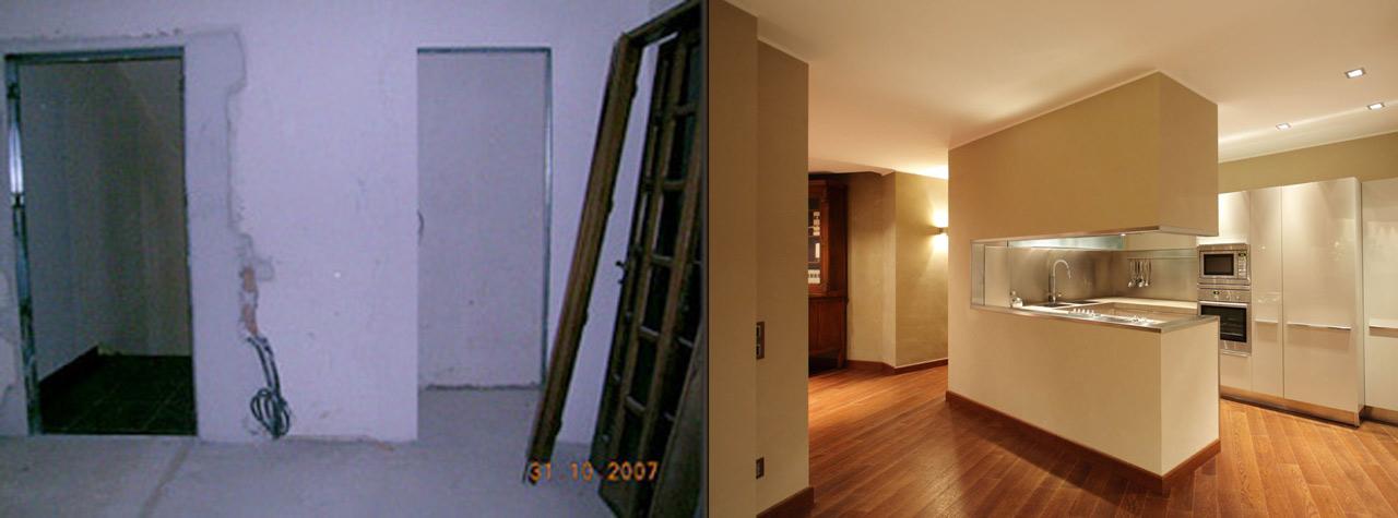 Prima e dopo trento arredamenti for Trento arredamenti