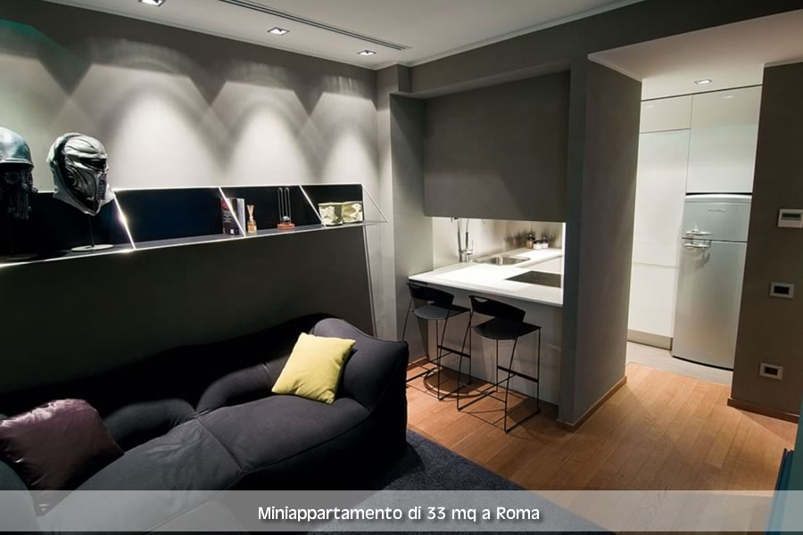 Interior design arredamento architettura di interni roma for Miniappartamento design