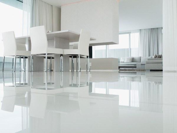 Pavimento In Resina Bianco.Il Pavimento In Resina Una Soluzione Rapida Confortevole E