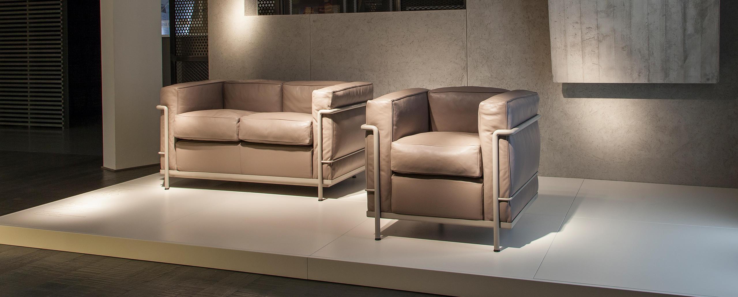 Poltrona e divano LC2 Cassina