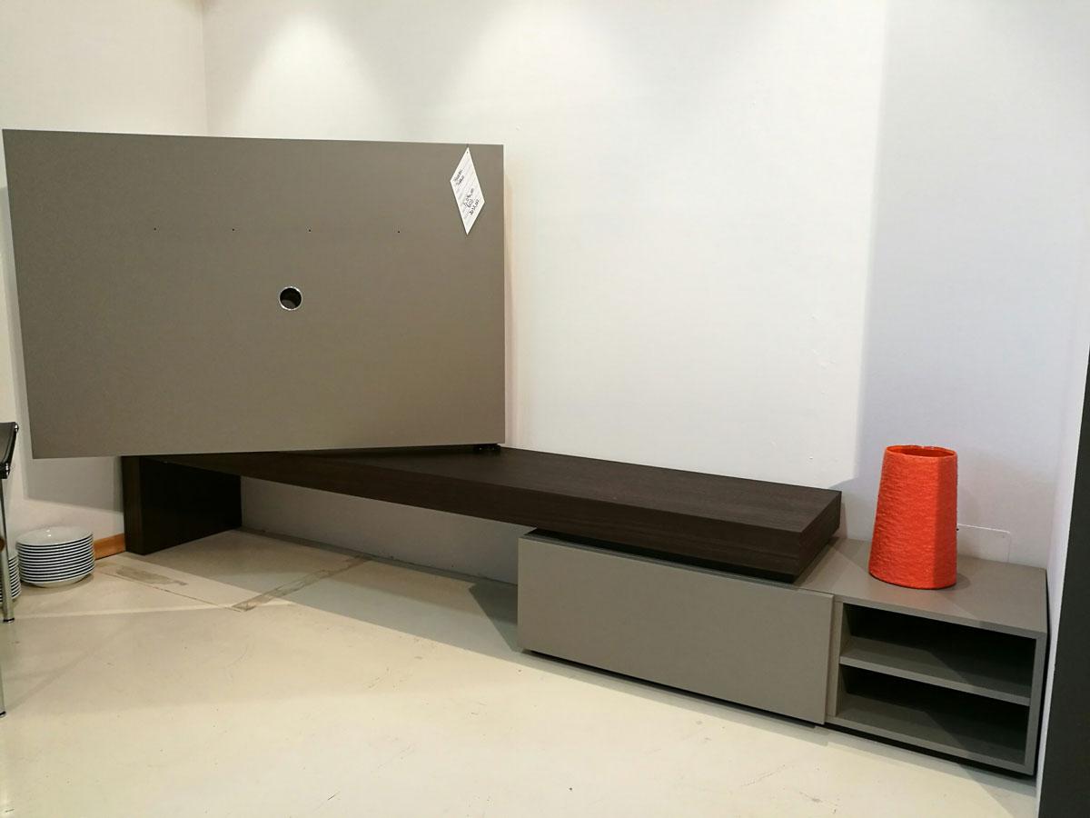 Porta Tv Girevole 180 Gradi.Mobile Parete Porta Tv Girevole Serie Modern Porro