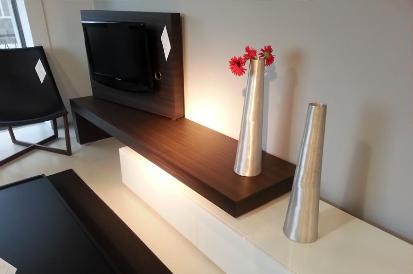 Parete Porta Tv Moderno.Mobile Parete Porta Tv Girevole Serie Modern Porro