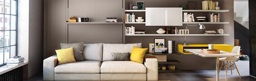 Interior design lo spazio flessibile e le proposte di for Proposte di arredo